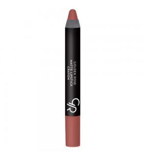 Golden Rose Matte Lipstick Crayon Kalem Ruj No:21