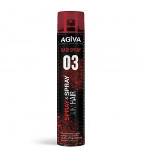 Agiva Gum Hair Saç Spreyi No:03 400ml ..