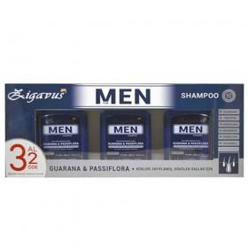 Zigavus Men Erkekler İçin Saç Dökülme Karşıtı Şampuan 300ml 3 Al 2 Öde