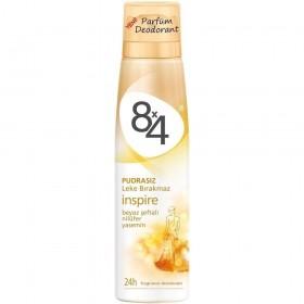 8x4 Women Inspire Deodorant Bayan Deodorant 150 ml