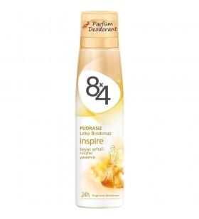 8x4 Women Inspire Deodorant Bayan Deodorant 150 ml..