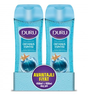 Duru Fresh Sensations Duş Jeli Okyanus Esintisi 450 ml